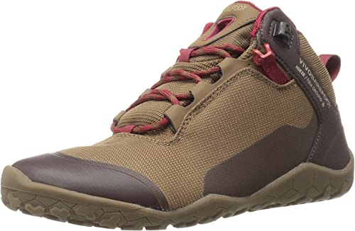 Vivobarefoot Hiker Firm Ground Dark Brown Womens Mesh Hiking Outdoor Trainers
