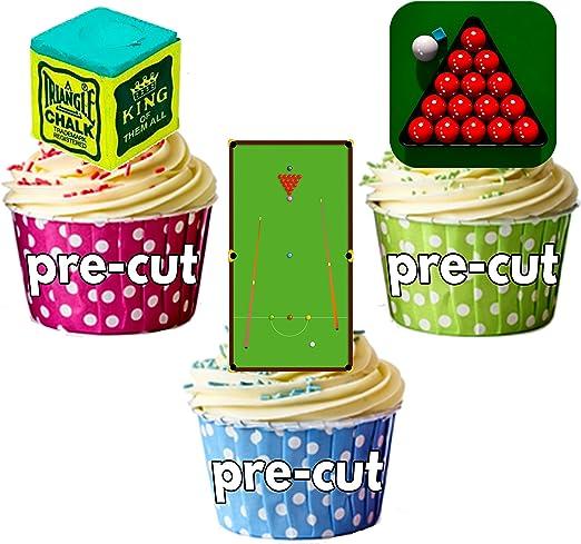 Party Pack – 36 x bolas mesa de billar tiza billar jugador mezcla ...