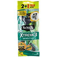 Schick Xtreme3 Sensitive M 2+1 Razors Bag