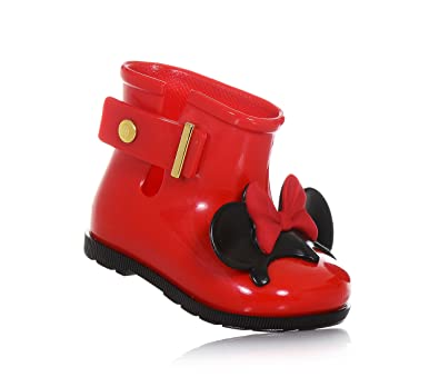 8a6062f2cec MINI MELISSA - Red rain boot
