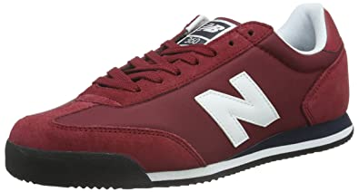 New Balance Men 360 Low-Top Sneakers, Red (Bordeaux/White),