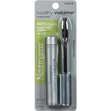 6fff4353799 NEUTROGENA - Healthy Volume Mascara Regular #02 Black - 0.21 oz. (6 g):  Amazon.co.uk: Health & Personal Care