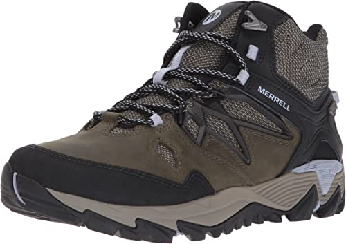 Ladies Merrell All Out Blaze 2 Mid GTX Dark Olive Leather Walking Boots