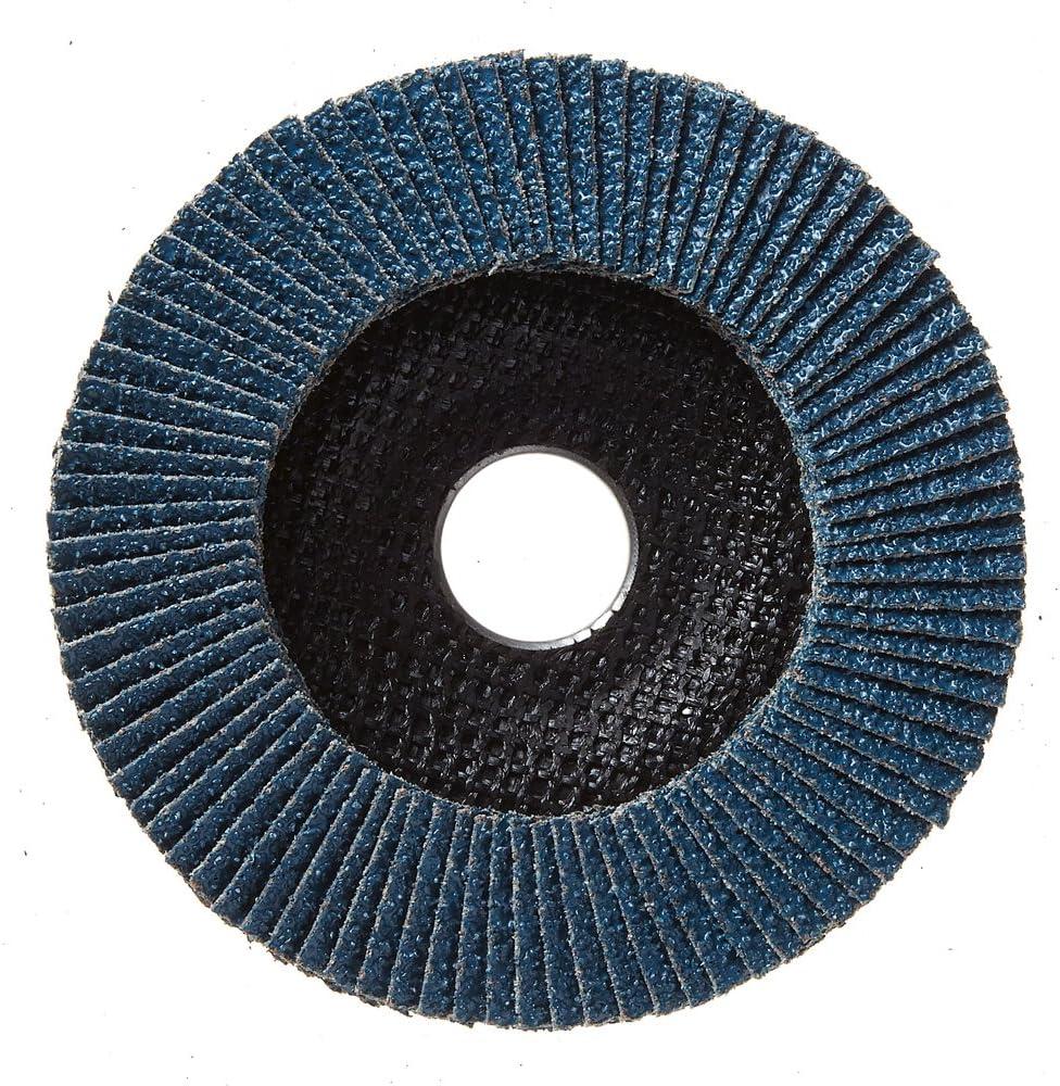 10 Pack High Density Type 27 Mercer Industries 262060 Zirconia Flap Disc 4-1//2x 7//8 Grit 60