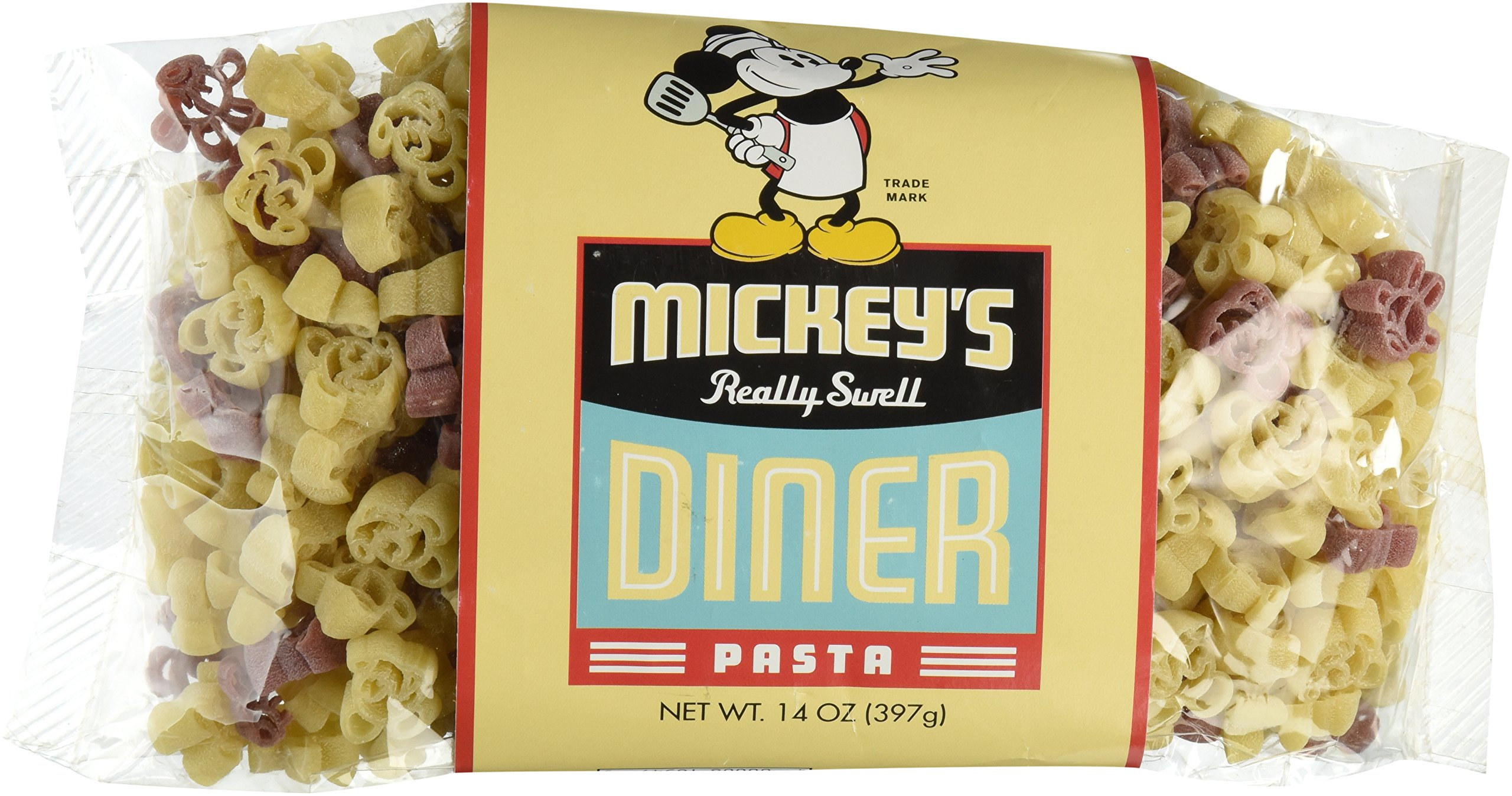 Disney Park Chef Mickey's Mickey Mouse Shaped Pasta 14 ounce