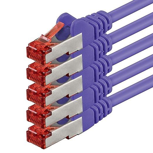 58 opinioni per 1aTTack 5.0m 2x RJ-45 Cat6 S/FTP (S-STP) M/M 5m Cat6 S/FTP (S-STP) Violet