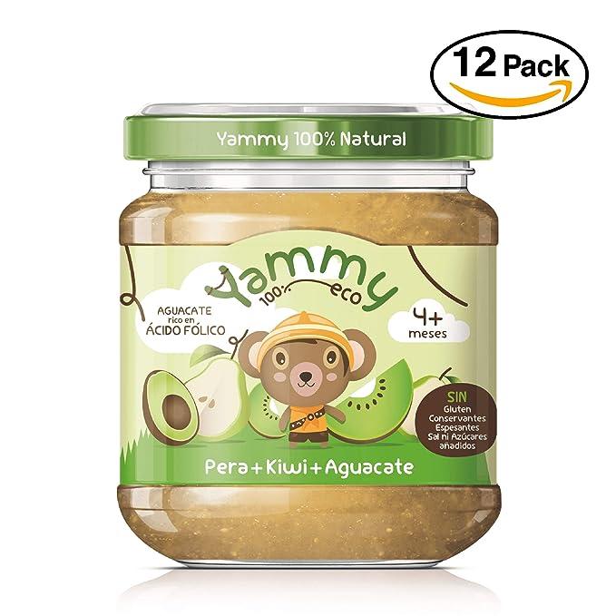 Yammy, Potito Ecológico de Frutas (Pera, Kiwi, Aguacate) - 12 de