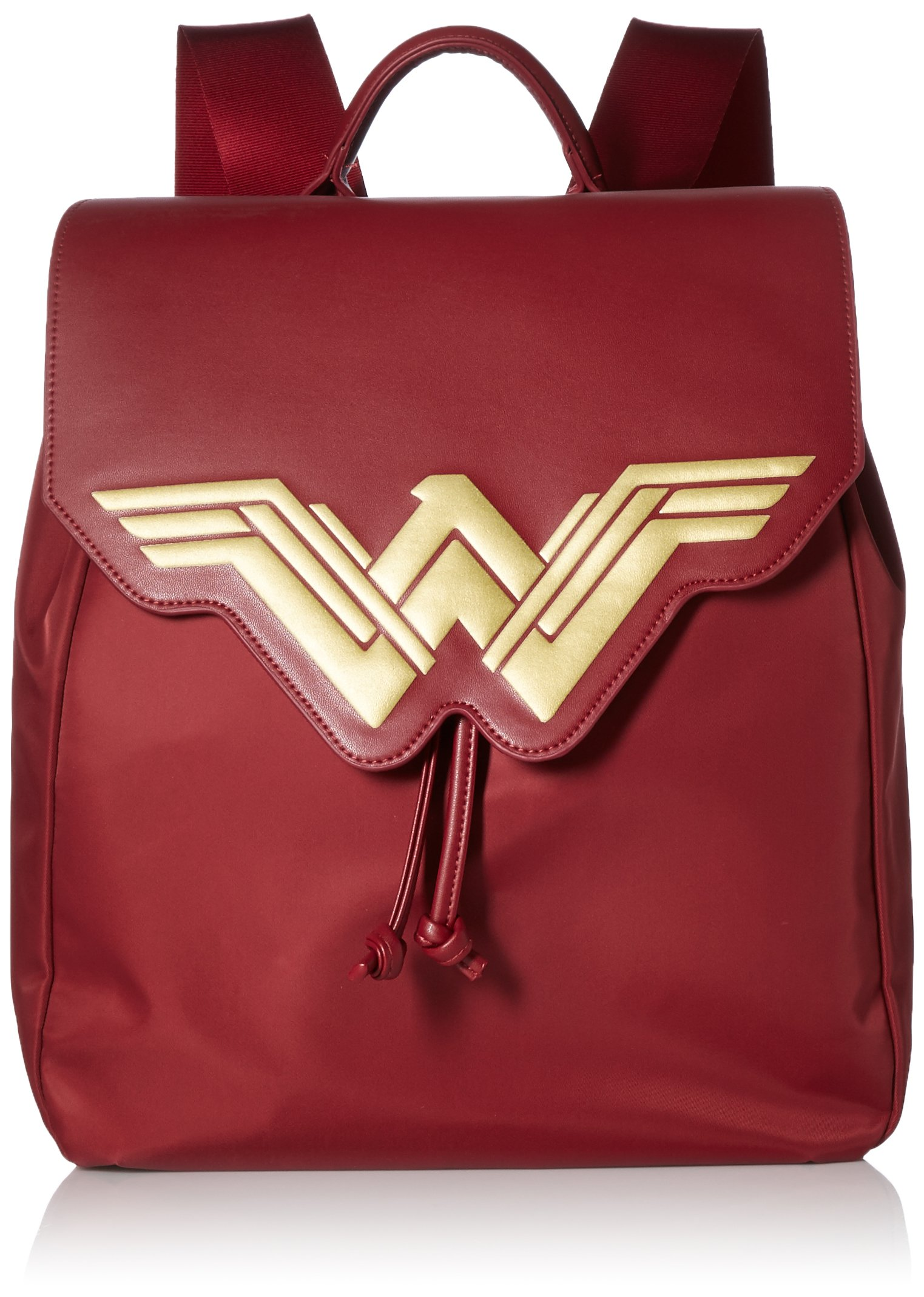 BB Designs Wonder Woman Fashion Backpack, Red