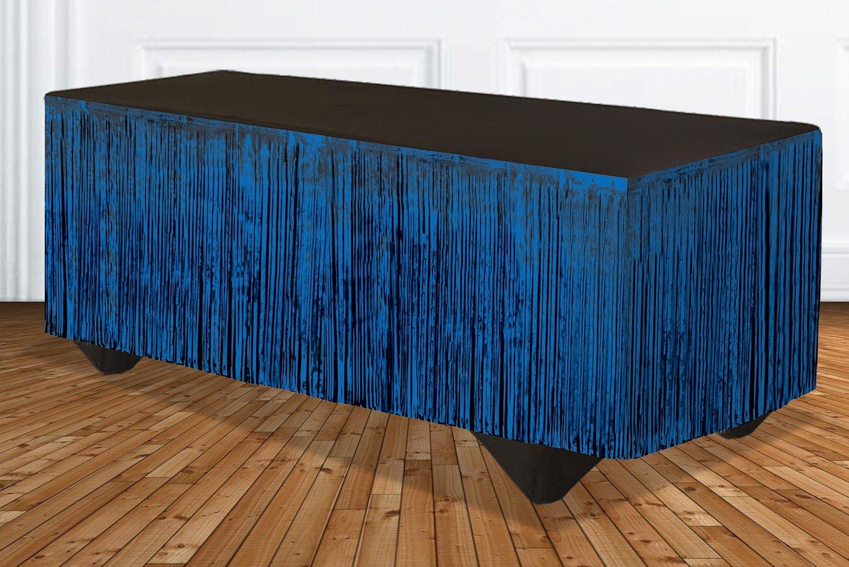 Forum Novelties 76185 Lametta Fransen Tisch Rock, 365,8 x 73,7 cm ...