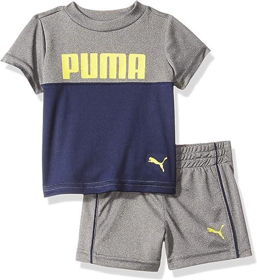 PUMA Boys Boys T-Shirt /& Short Set Shorts Set