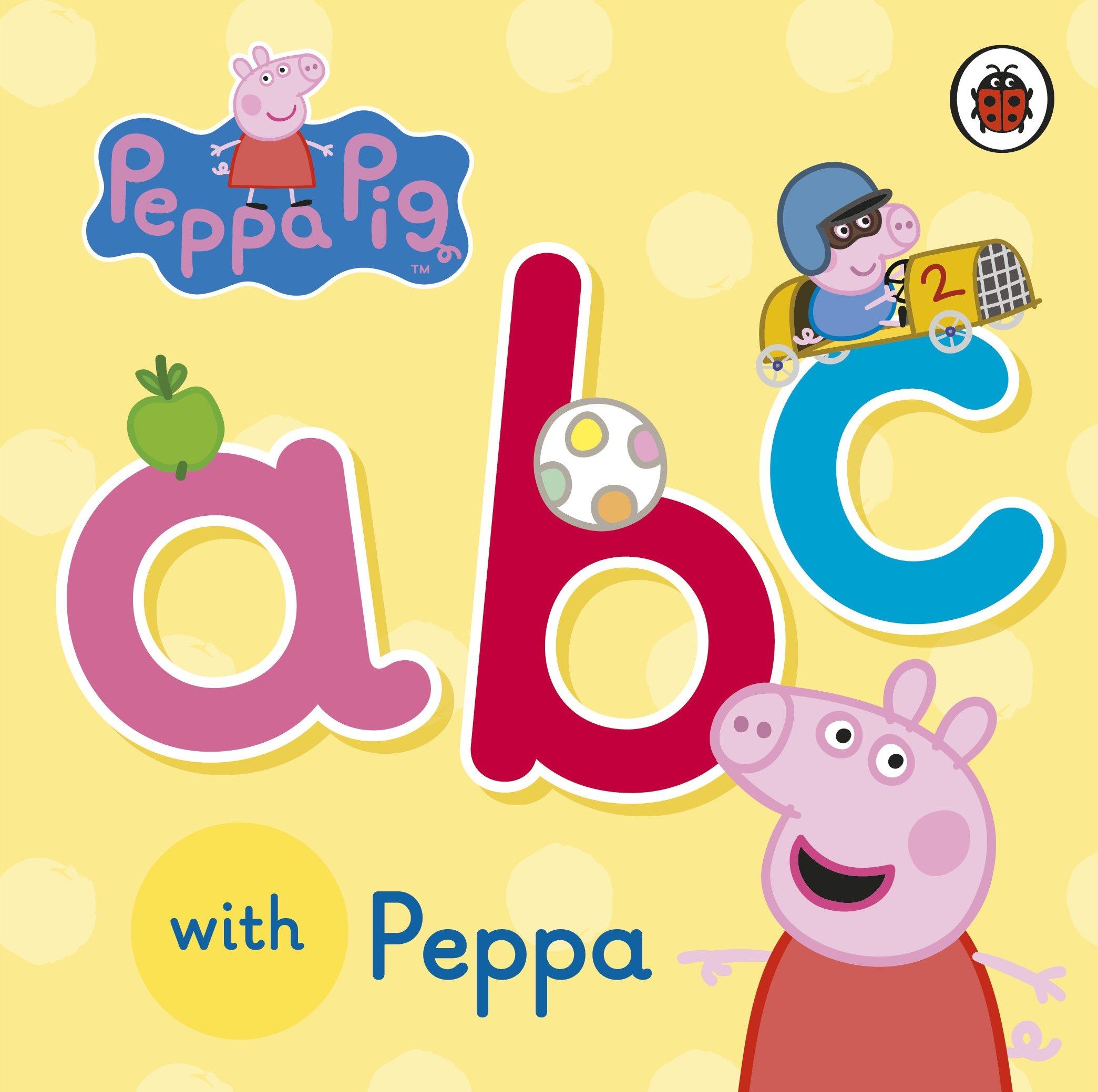 peppa pig abc with peppa na 9780723292098 amazon com books