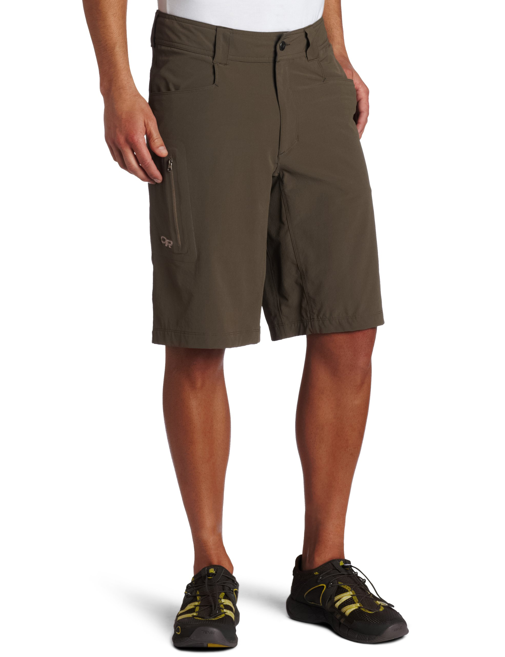 Outdoor Research Men's Ferrosi 12'' Shorts, Mushroom, 30 by Outdoor Research