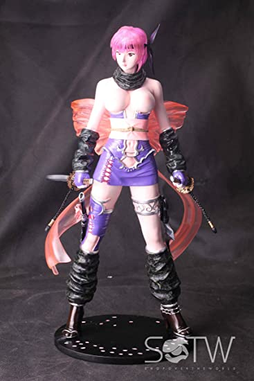 Ayane Ninja Gaiden vivo o muerto Sexy de pie 1/3 pintado en ...