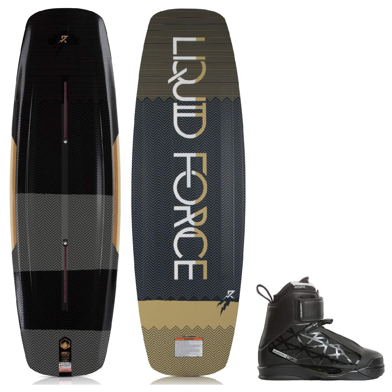Liquid Force Raph Wakeboard Mens Sz 135cm Bindings Sz 8-9 by Liquid Force
