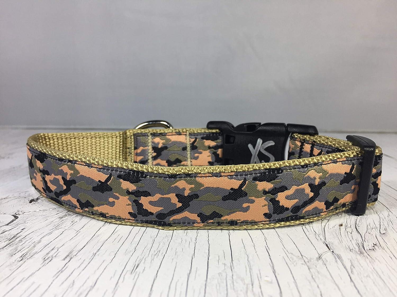 Desert Camouflage Dog Collar