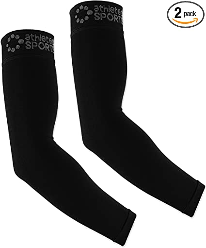 Amazon.com: athletec Sport brazo manga de compresión (20 ...