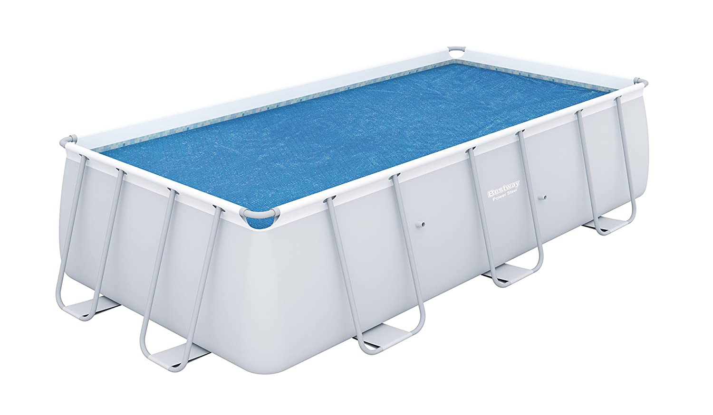 Bestway Rectangular Solar Pool Cover Blue Wilton Bradley 58240