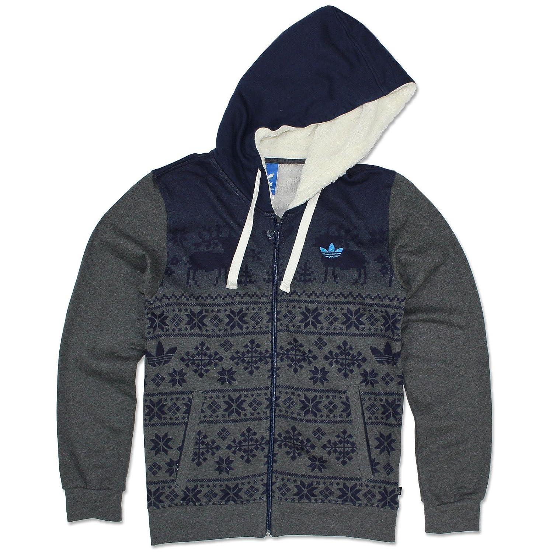 watch skate shoes buy sale adidas Originals Nordic FZ Hoody Norweger Jacke Kapuzenjacke Sweatshirt GRAU