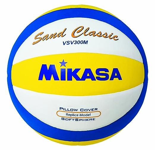 7 opinioni per Mikasa 1618- Pallone da beach volley Sand Classic Vsv300m, colore: