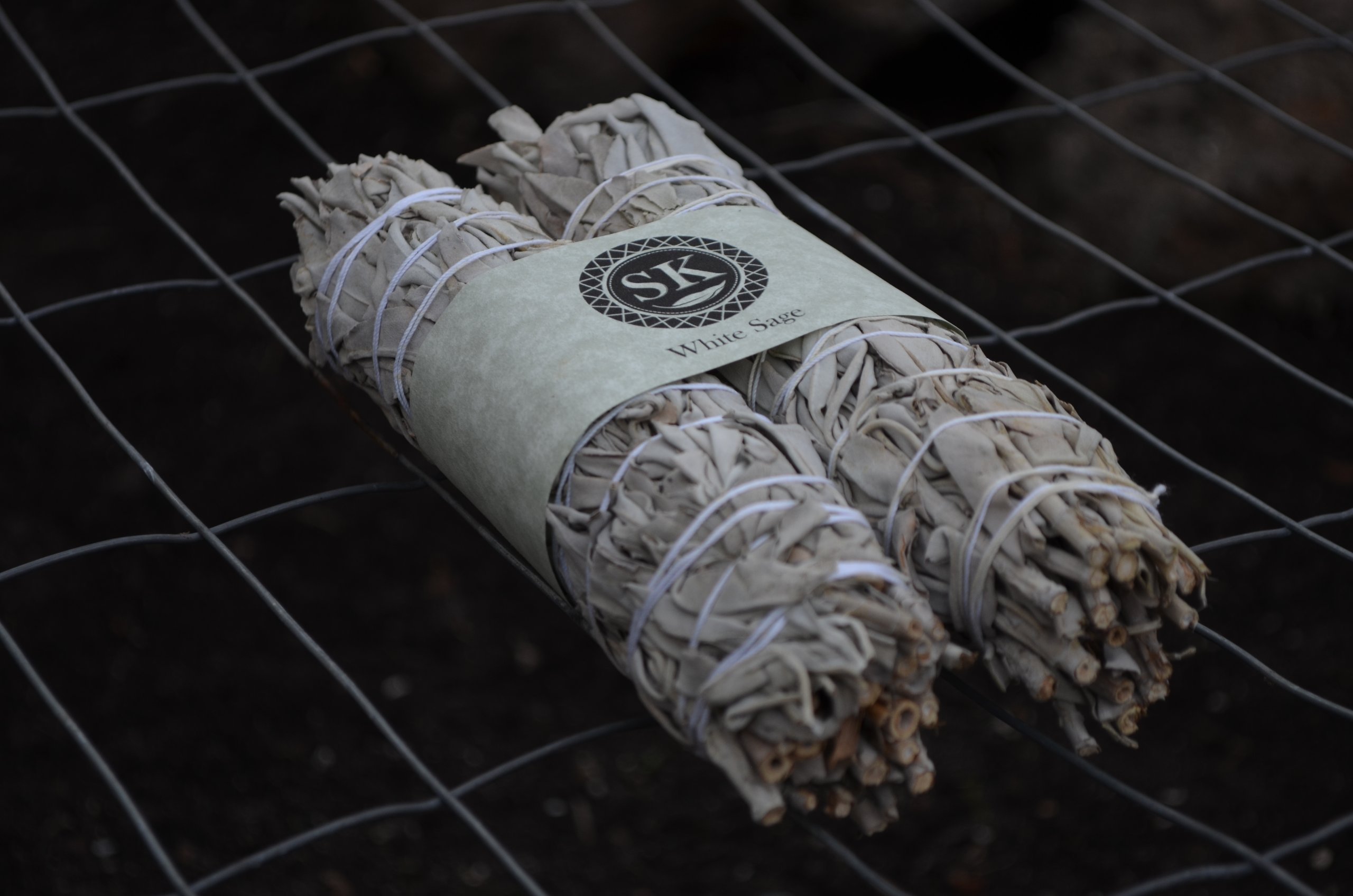 """White Sage Smudge Stick Two Pack, 9"""""""
