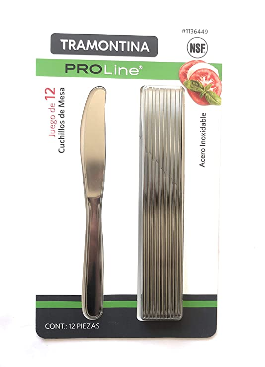 Amazon.com: Tramontina PROLine 12 Pack Stainless Steel ...