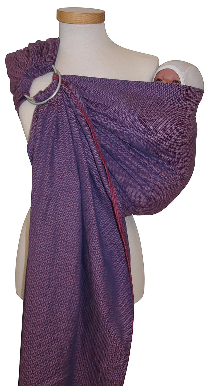 Storchenwiege - Echarpe ringsling leo nature - 1 écharpe - écharpe porte-bébé, douceur et sécurité