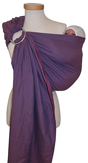 Ring Sling Leo Unis de Storchenwiege Rose  Amazon.fr  Bébés ... 828be06aae4