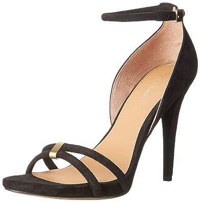 Calvin Klein Women's Nathali Dress Sandal, Black, ...