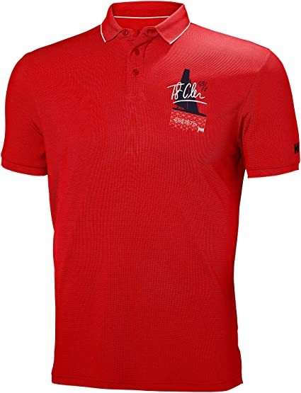 HELLY HANSEN - HP RACING POLO - UOMO - 53012 - M, 112 FLAG RED ...