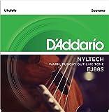 D'Addario EJ88S - Juego de cuerdas para ukelele soprano