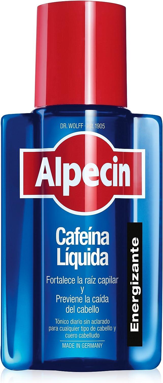 Alpecin Cafeina Liquida 1x 200 ml   Locion anticaida cabello hombre   Tratamiento para caida de pelo hombre   Tratamientos contra alopecia areata ...