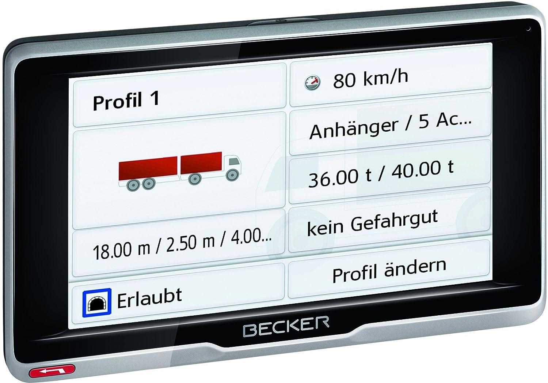 Becker Transit 5 LMU Satellite Navigation System: Amazon.co.uk ...