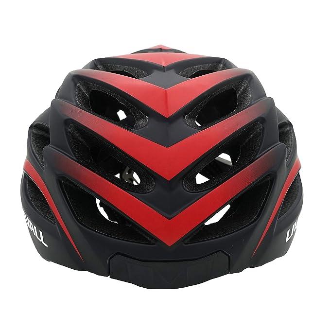 LIVALL BH62-R Casco Inteligente Seguridad Ciclistas, Unisex, Rojo y Negro, Medium: Amazon.es: Deportes y aire libre