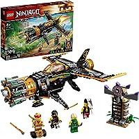 LEGO 71736 NINJAGO Legacy Boulder Blaster Vliegtuigspeelgoed met Gevangenis en Verzamelbare Gouden Ninja Kai-Figuur