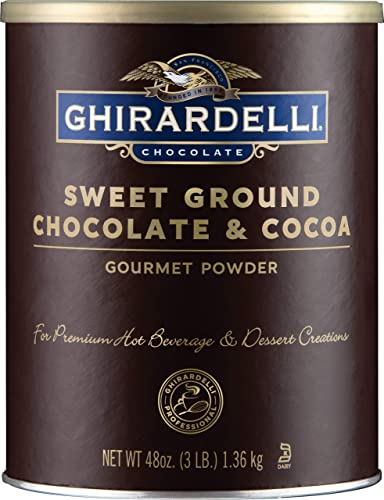 Ghirardelli Chocolate Sweet Ground Chocolate & Cocoa Beverage Mix