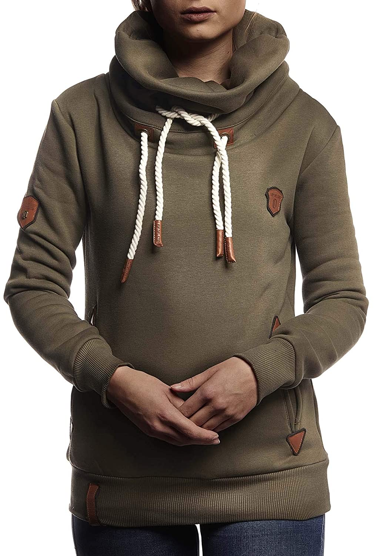 Damen NELSON LEIF Pullover Hoodie zuerst Verbraucher