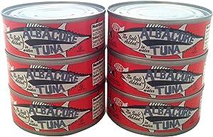 Trader Joe's Albacore Tuna in Water, No Salt Added - 6 Pack