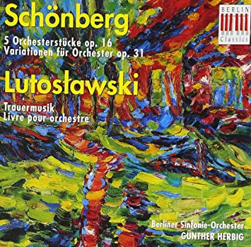 arnold schoenberg five pieces for orchestra