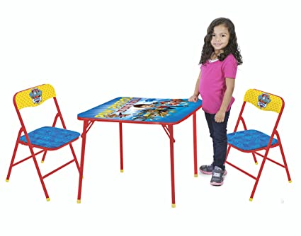 Cool Nickelodeon Paw Patrol 3 Piece Kids Table Chair Set Toy Creativecarmelina Interior Chair Design Creativecarmelinacom