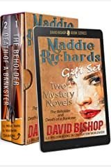 Maddie Richards Gift Set - Two Mystery Novels: The Beholder and Death of a Bankster (A Maddie Richards Box Set Book 1) Kindle Edition
