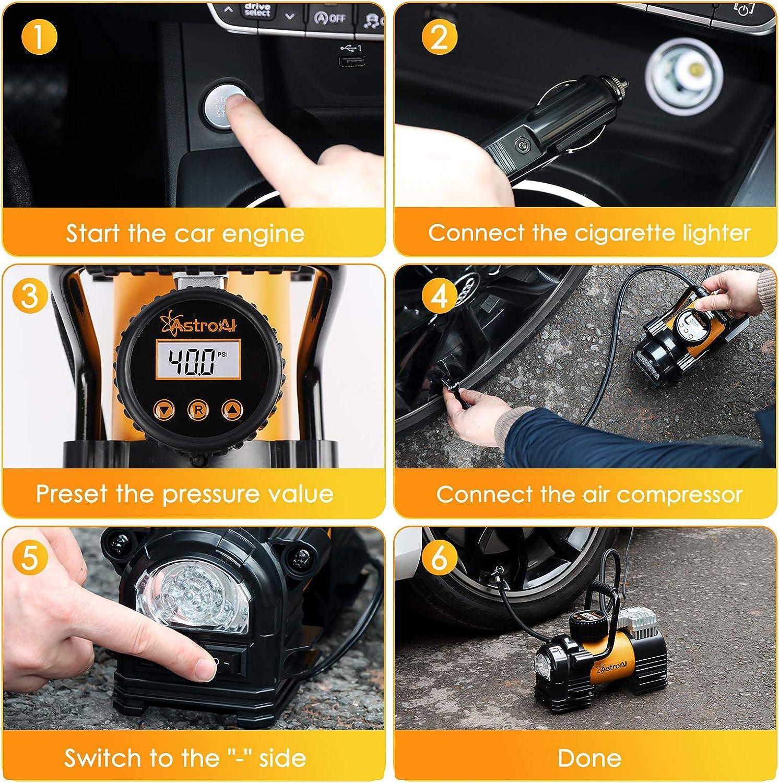 Tire Air Compressors & Inflators AstroAI Air Compressor Tire ...