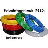 25m Polyethylenschlauch - 6/4mm (Außen-Ø/Innen-Ø) - Farbe nach Wahl (natur (milchig))