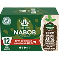 Nabob 100% Colombian Coffee 100% Compostable Pods, 12 Pods