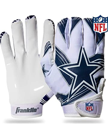 a791c468c Franklin Sports NFL Team Licensed Youth Football Receiver Gloves (Pair)