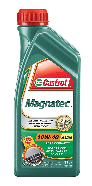 Castrol MAGNATEC Aceite de Motores 10W-40 A3/B4 4L (Sello inglés): Amazon.es: Coche y moto