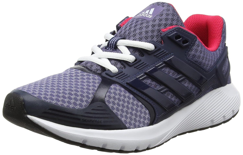 Adidas Duramo 8 W, Zapatos para Correr Mujer 38 2/3 EU|Azul (Super Purple /Collegiate Navy/Ftwr White)