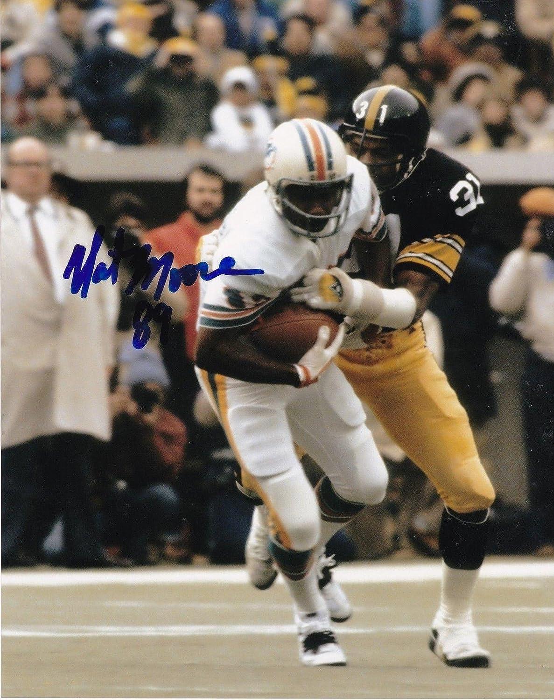 buy online 2ba26 adcba Nat Moore Autographed Photograph - 8x10 - Autographed NFL ...