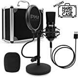 USB Microphone Podcast Recording Kit - Audio Cardioid Condenser Mic w/Desktop Stand and Pop Filter - for Gaming PS4…