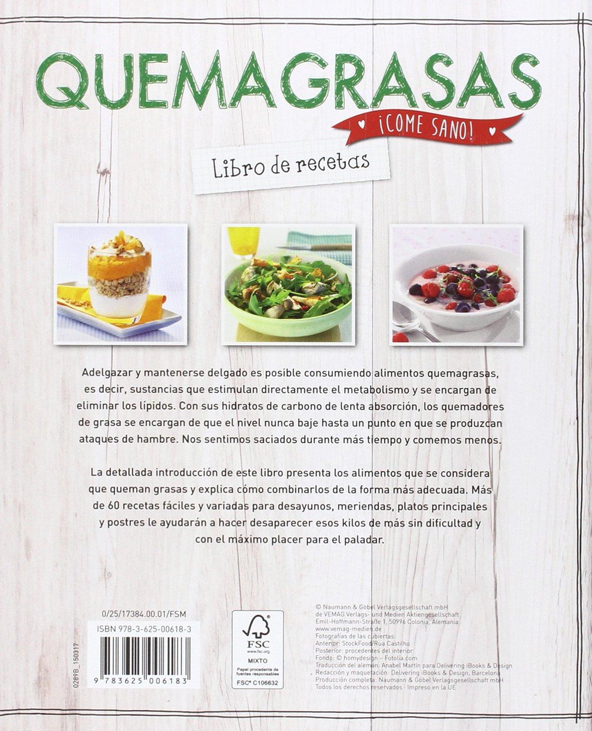RECETAS QUEMAGRASAS: VV.AA.: 9783625006183: Amazon.com: Books