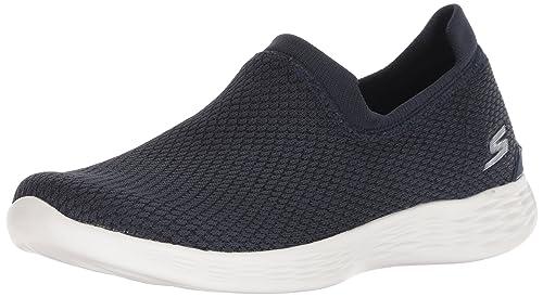 Skechers You Define-Allegra, Zapatillas sin Cordones para Mujer: Amazon.es: Zapatos y complementos